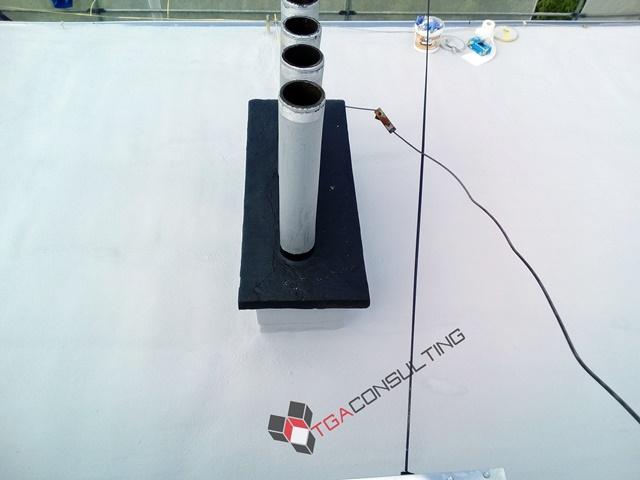 Izolacja dachu płaskiego