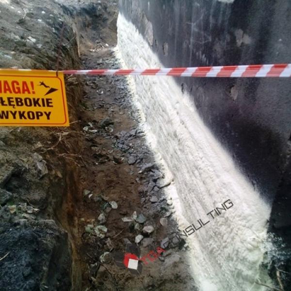Izolacja fundamentów kamiennicy