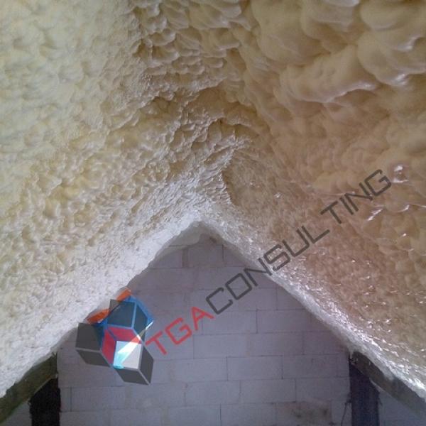 Ocieplenie poddasza z membraną paroprzepuszczalną